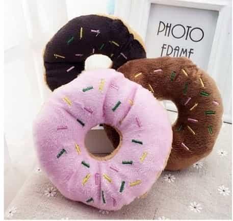 bánh donut bằng vải