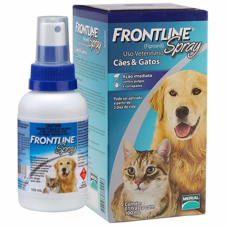 Một chai thuốc xịt Frontline